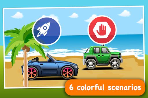 【免費娛樂App】嬰兒種族 - 建立你的汽車,並在比賽!-APP點子