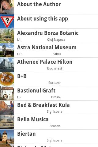 Romania Traveler's Guide - screenshot