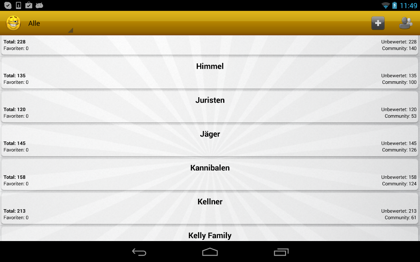 Witzopedia - German Jokes App- screenshot