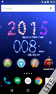 New Years Countdown to 2015 - screenshot thumbnail