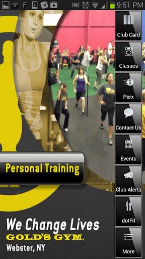 【免費健康App】Gold's Gym Webster-APP點子