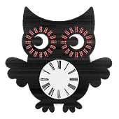 Owl Clock Widget