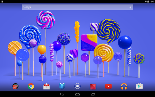 Lollipop Live Wallpaper- screenshot thumbnail