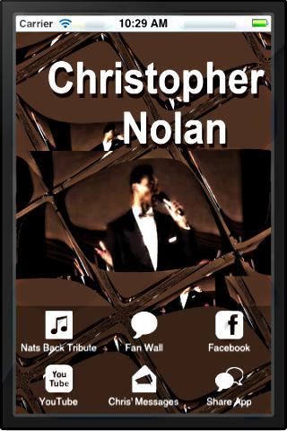 【免費音樂App】Christopher Nolan-APP點子