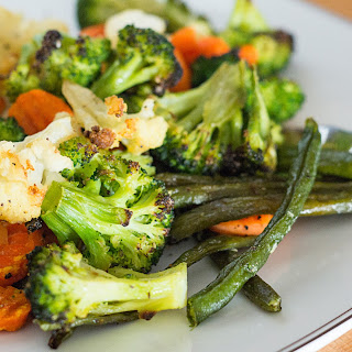 Roasted Frozen Vegetables.