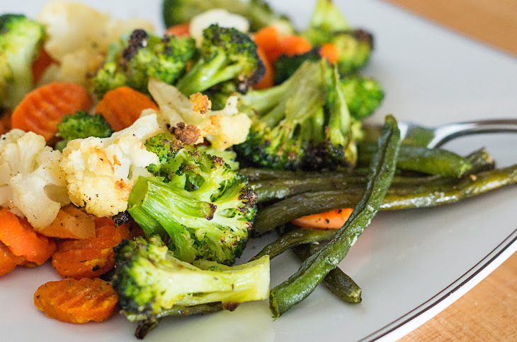 Roasted Frozen Vegetables Recipe