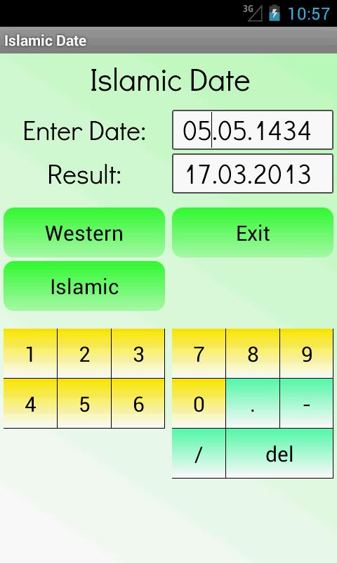 Islamic date today