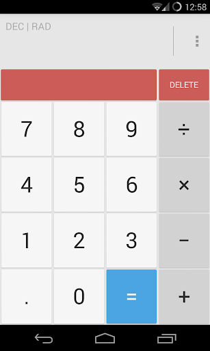 Calculator Light Theme