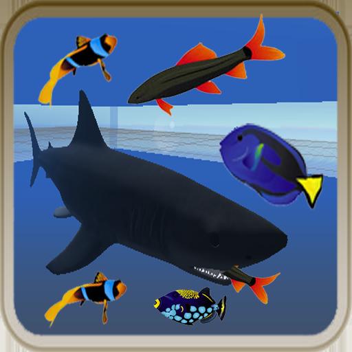 动作の魚フィード LOGO-記事Game