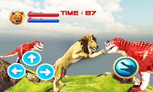 野生獅子攻擊3D模擬器