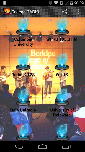 College RADIO Stations