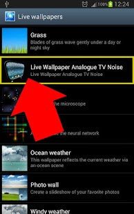 Old Analogue TV Noise LIVE WP - screenshot thumbnail