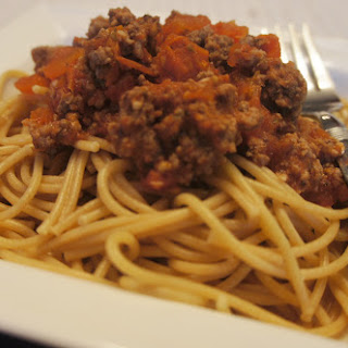 Slow Cooker Spaghetti Sauce with Fresh Tomatoes.