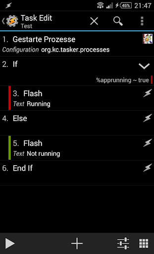 Tasker Process Running KC