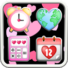 Pinky Heart Icon icon