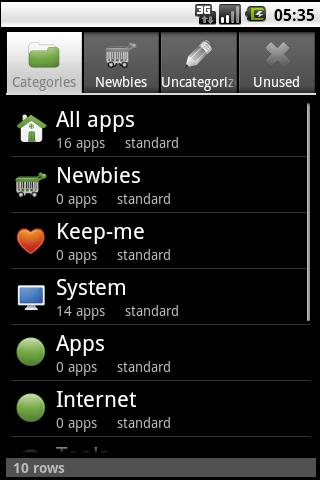 AutoAppOrganizer Full (ticket) - screenshot