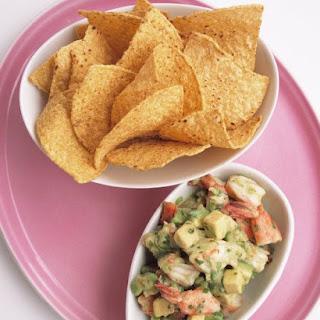 Shrimp and Avocado Ceviche.
