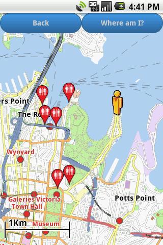 Sydney Amenities Map free