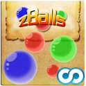 zBalls – bounce ball logo
