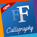 Calligraphy free fonts Samsung icon