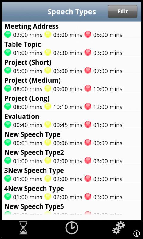 Speech Timer- screenshot
