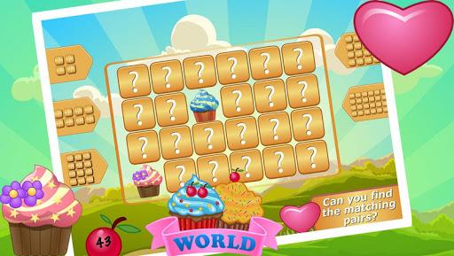 Fun Cupcake Match It Game