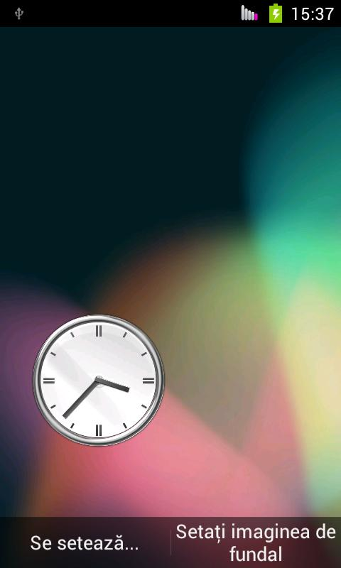 Sensor Clock LiveWallpaper - screenshot