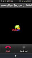 Screenshot of Voicell