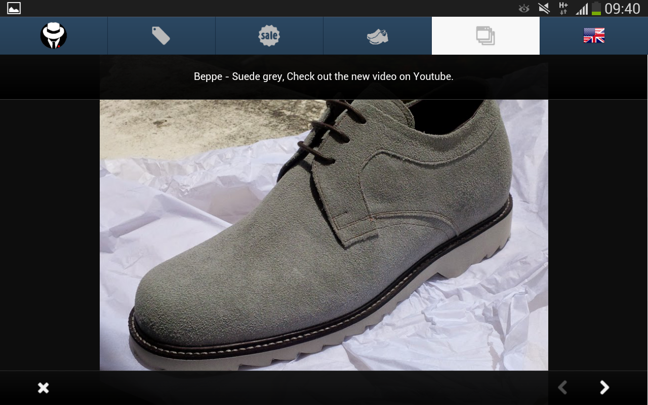 DONS FOOTWEAR - Men's Shoes- screenshot