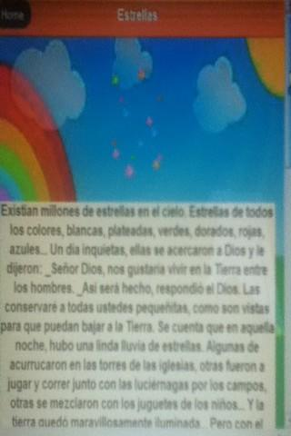Cuentos infantiles - screenshot