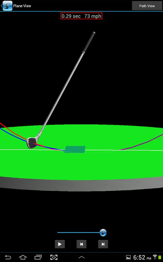 SwingSmart - screenshot