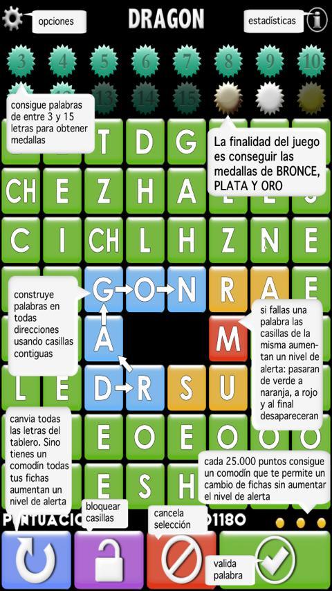 Olimpiada de palabras- screenshot