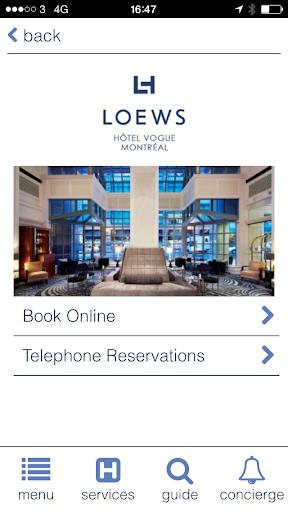 玩旅遊App|Loews Hotel Vogue免費|APP試玩