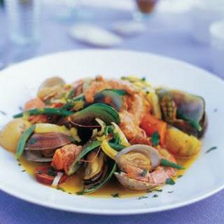 Spanish-Style Steamed Shellfish