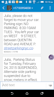 StreetParkingNYC- screenshot thumbnail