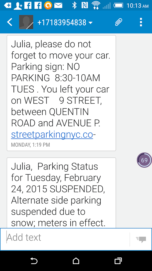 StreetParkingNYC- screenshot