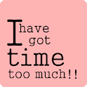 I have got time too much logo