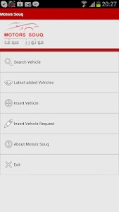 motorssouq.com Mobile version screenshot 0
