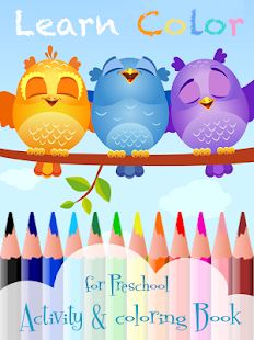 Learn color for Preschool