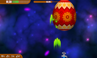 Screenshot of Chicken Invaders 3 Easter