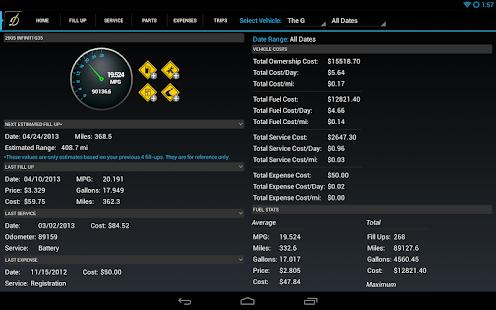 DriverDiary Pro - Gas Mileage