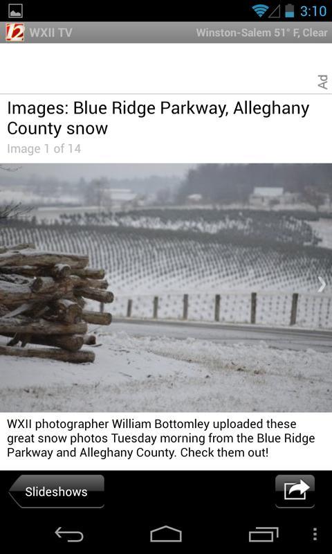 WXII 12 News and Weather- screenshot