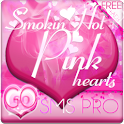 Smokin HOT PINK GO SMS Theme logo