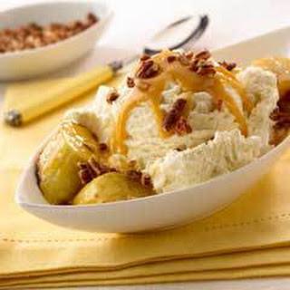Grilled Bananas & Pecan Sundaes.