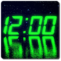 LED clock widget icon