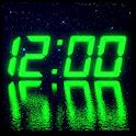LED clock widget