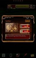 Screenshot of Steampunk Twitter GO Widget