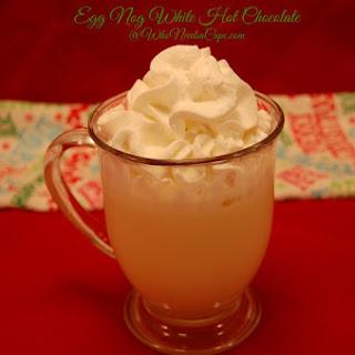 Egg Nog White Hot Chocolate