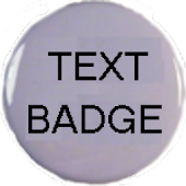Text Badge