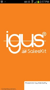 igus SalesKit from Mediafly- screenshot thumbnail